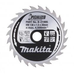 Makita Zāģripa 136x20x1,5mm...