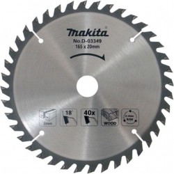 Makita Zāģripa 165x20x2,0mm...
