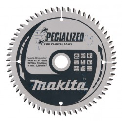 Makita Zāģripa 165x20mm...