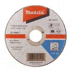 Makita Griezripa 180x2,5...