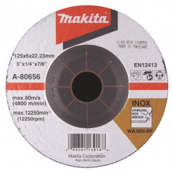 Makita Slīpripa 125x6...